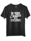 Creative Black T-Shirt
