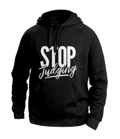 Stop Judging Black Hoodies