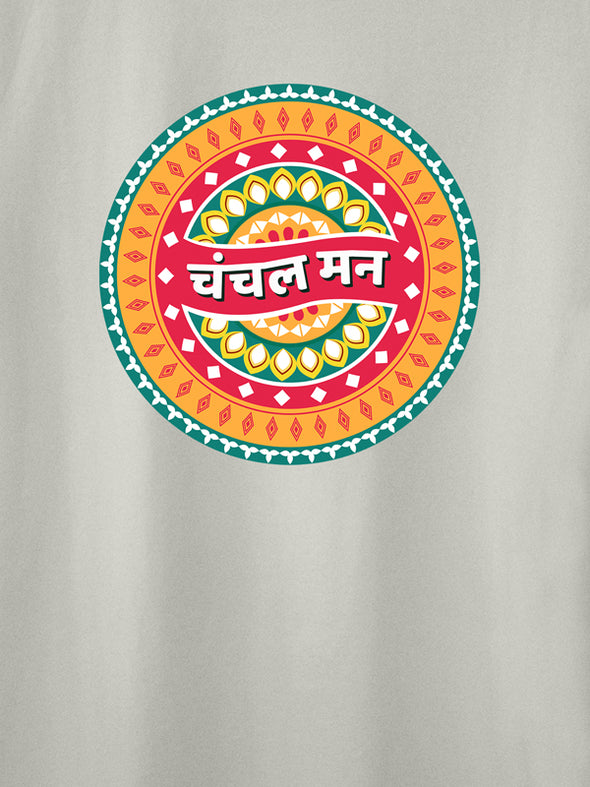 Chanchal Maan White Graphic T-Shirts