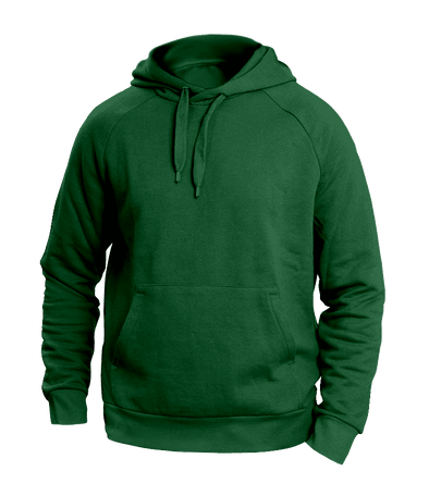 Solid Green Hoodies
