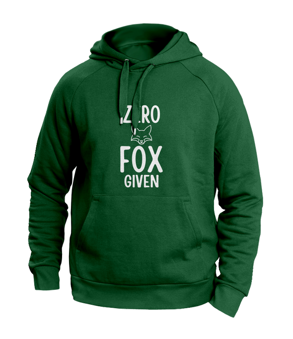 Zero Fox Given Green Hoodies