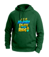 Life is a journey Green Hoodies