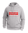parental advisory white hoodies