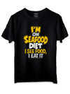 Diet Black T-Shirts