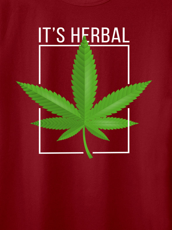 It's Herbal Maroon T-Shirts
