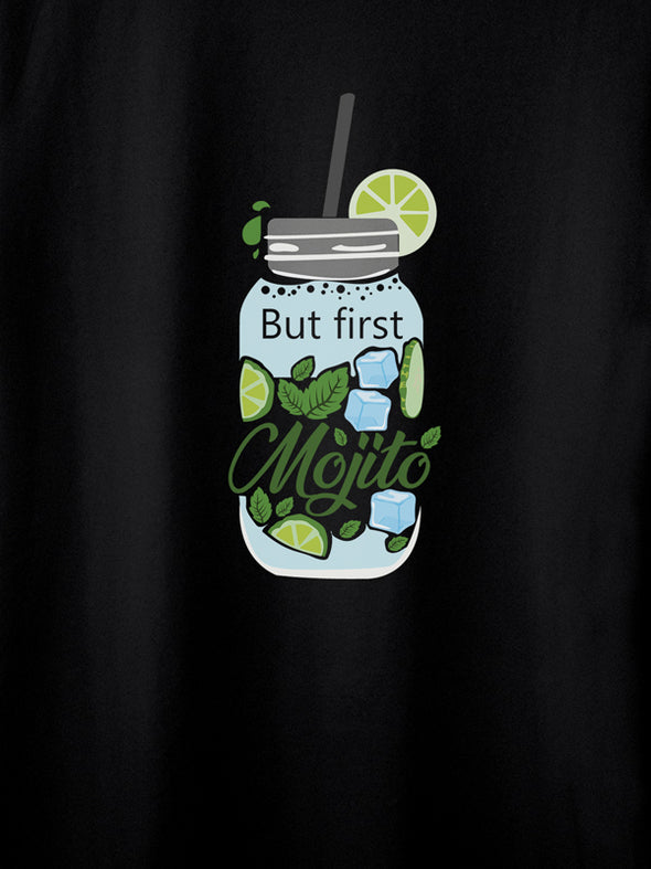 Just Mojito Black T-Shirts