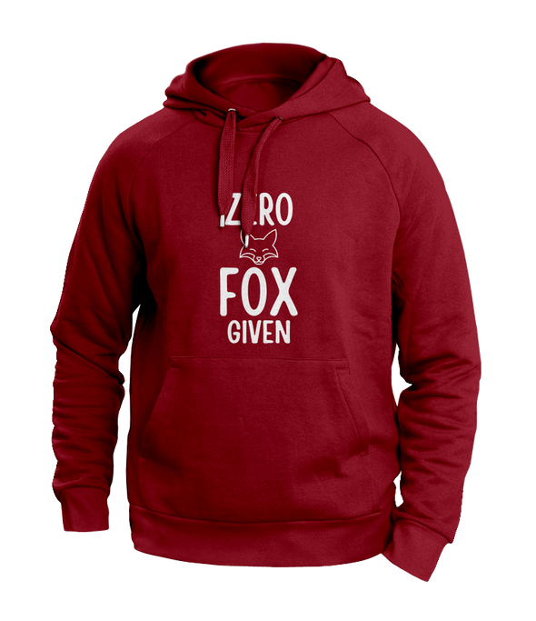 Zero Fox Given Maroon Hoodies