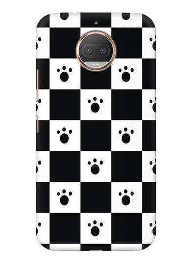 Paw Checkers Mobile Cover for Moto E4 Plus