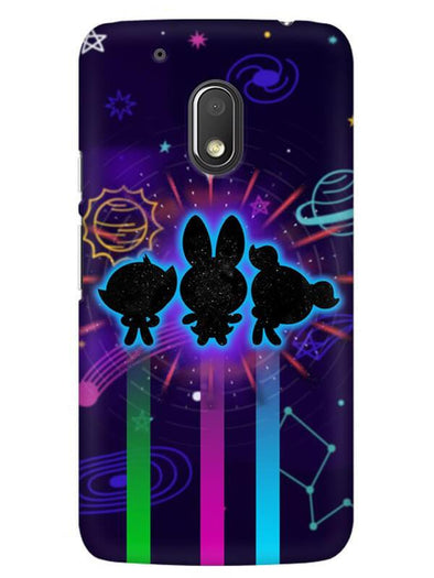 Glow Girls Mobile Cover for Moto G4 Play