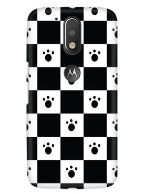 Paw Checkers Mobile Cover for Moto G4 Plus
