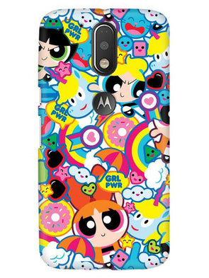 Girl Power Mobile Cover for Moto G4 Plus