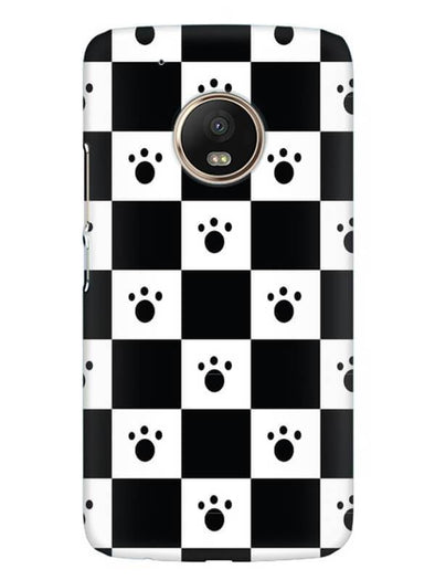 Paw Checkers Mobile Cover for Moto G5
