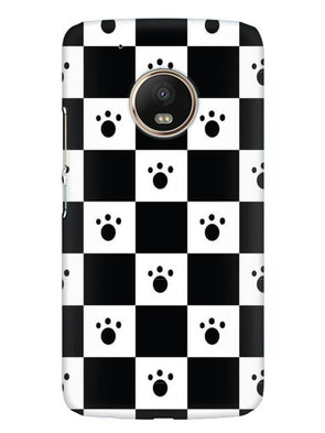 Paw Checkers Mobile Cover for Moto G5 Plus