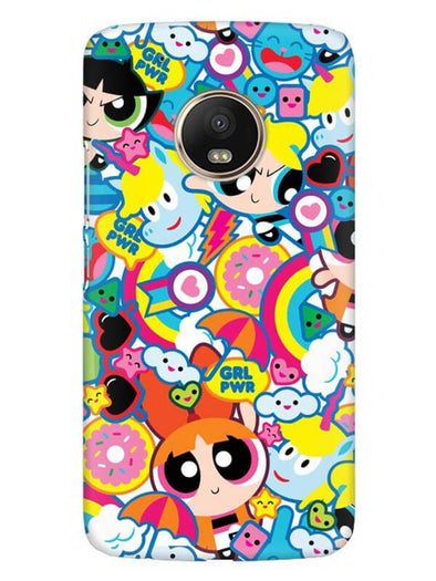 Girl Power Mobile Cover for Moto G5 Plus