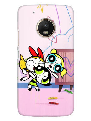 Powerpuff Girls Mobile Cover for Moto G5 Plus