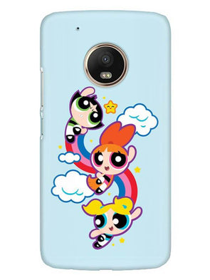 Girls Fun Mobile Cover for Moto G5 Plus