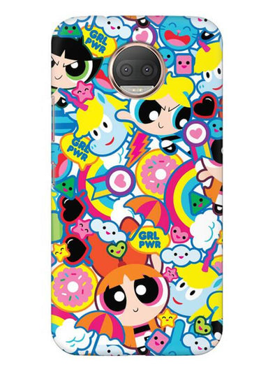 Girl Power Mobile Cover for Moto G5s