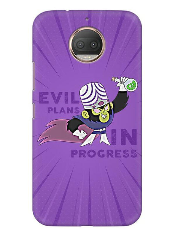 Evil Plan Mojojojo Mobile Cover for Moto G5s
