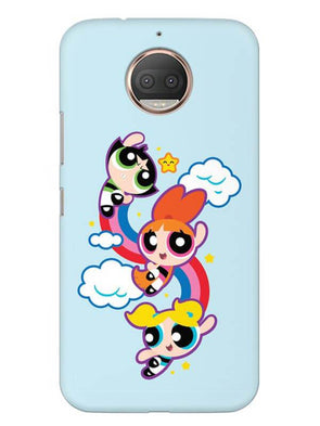 Girls Fun Mobile Cover for Moto G5s
