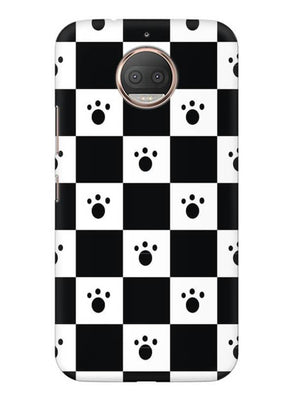 Paw Checkers Mobile Cover for Moto G5s Plus
