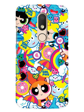 Girl Power Mobile Cover for Moto M