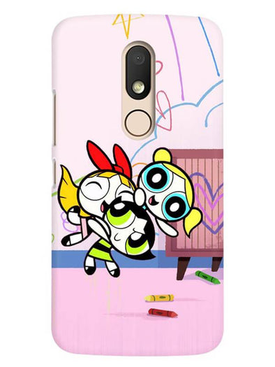 Powerpuff Girls Mobile Cover for Moto M
