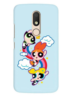 Girls Fun Mobile Cover for Moto M