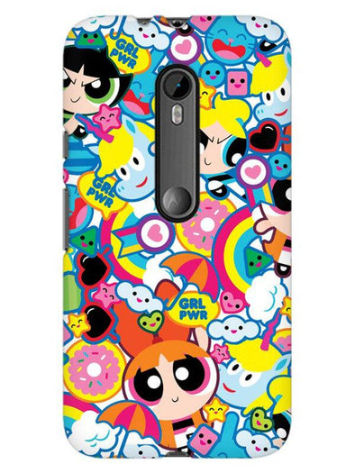 Girl Power Mobile Cover for Moto X Play
