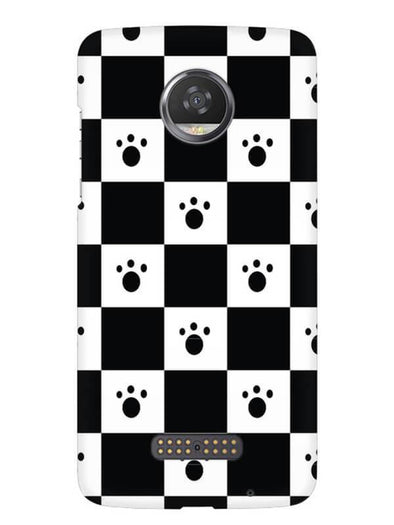 Paw Checkers Mobile Cover for Moto Z2 Play
