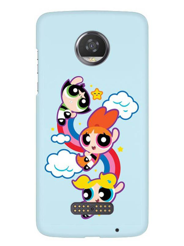 Girls Fun Mobile Cover for Moto Z2 Play