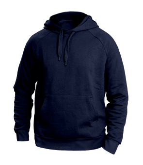 Solid Blue Hoodies