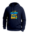 Life is a journey Blue Hoodies