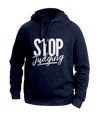 Stop Judging Blue Hoodies