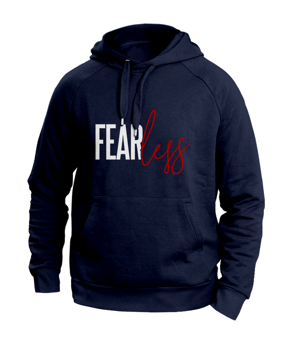 Fearless blue hoodies