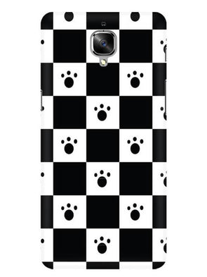 Paw Checkers Mobile Cover for OnePlus 3T