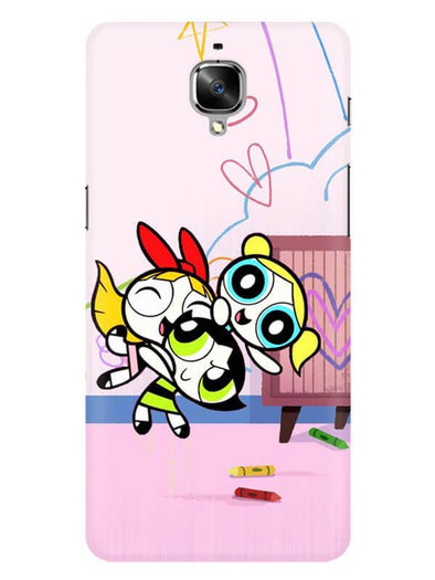 Powerpuff Girls Mobile Cover for OnePlus 3T