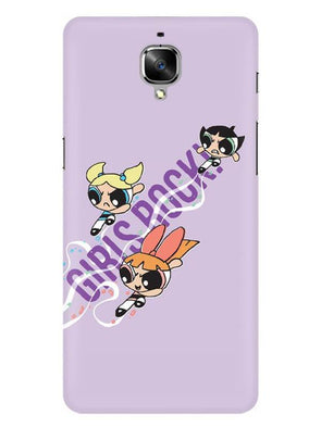 Girls Rocks Mobile Cover for OnePlus 3T