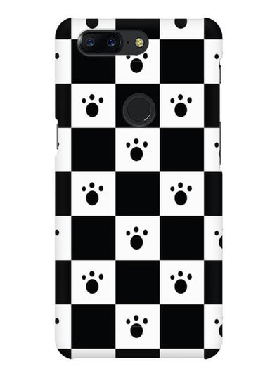 Paw Checkers Mobile Cover for OnePlus 5T
