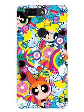Girl Power Mobile Cover for OnePlus 5T