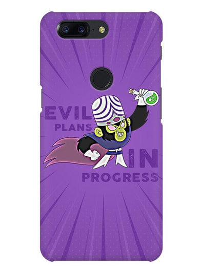 Evil Plan Mojojojo Mobile Cover for OnePlus 5T