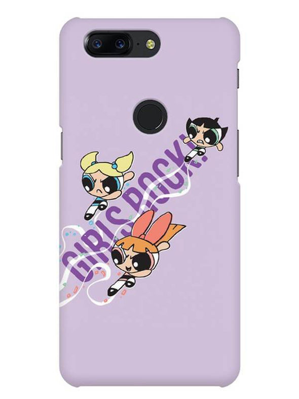 Girls Rocks Mobile Cover for OnePlus 5T