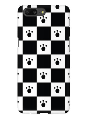 Paw Checkers Mobile Cover for OnePlus 5