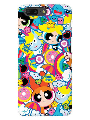 Girl Power Mobile Cover for OnePlus 5