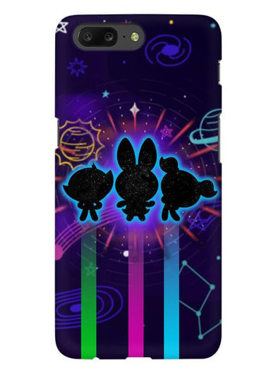 Glow Girls Mobile Cover for OnePlus 5
