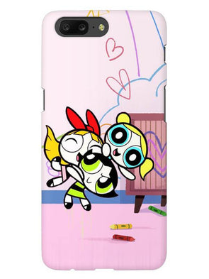 Powerpuff Girls Mobile Cover for OnePlus 5