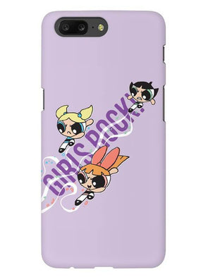 Girls Rocks Mobile Cover for OnePlus 5