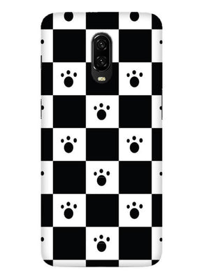 Paw Checkers Mobile Cover for OnePlus 6T