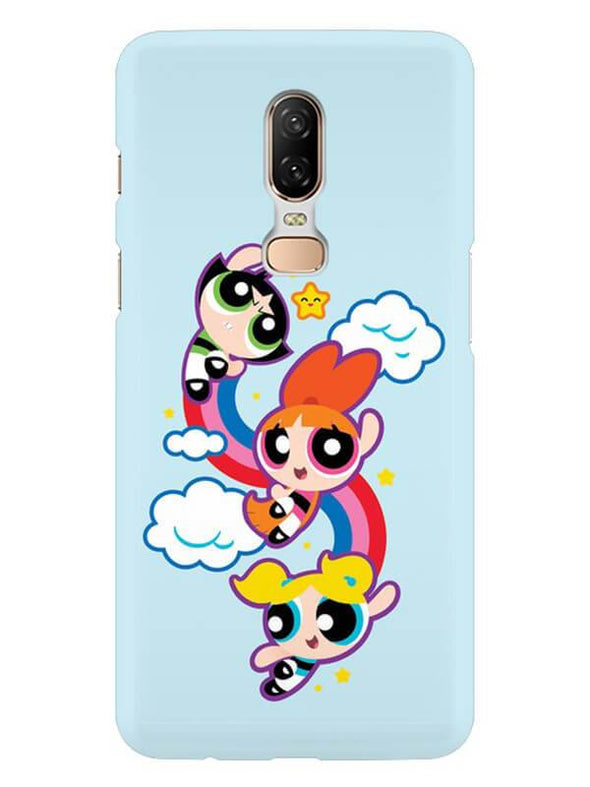 Girls Fun Mobile Cover for OnePlus 6