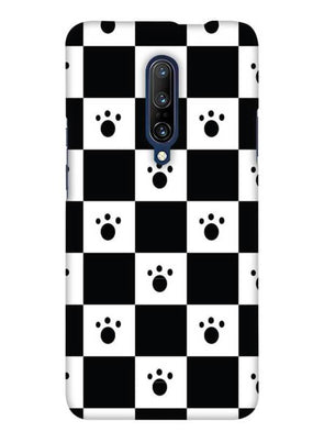 Paw Checkers Mobile Cover for OnePlus 7 Pro