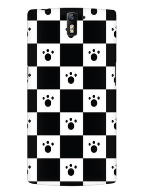 Paw Checkers Mobile Cover for OnePlus One